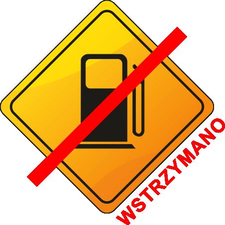 wstrzymanie sprzedaży paliwa